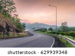 view of beautiful s curved road