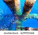 oil and gas wellhead platform ...   Shutterstock . vector #629955368