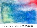 Watercolor Abstract Background...