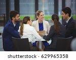 businesspeople having a...   Shutterstock . vector #629965358