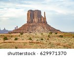 Famous West Mittens Butte In...
