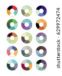 spectrum wheels with the... | Shutterstock .eps vector #629972474