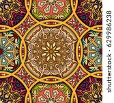 colorful vintage seamless...   Shutterstock .eps vector #629986238