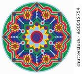 mandala vector illustration....   Shutterstock .eps vector #630013754