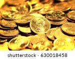 stacks of money and coins... | Shutterstock . vector #630018458