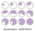 vector illustration. violet... | Shutterstock .eps vector #630019076