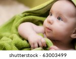 sweet child - stock photo