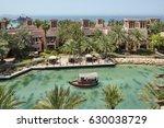 classic dubai buildings in...   Shutterstock . vector #630038729