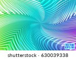 abstract rainbow striped... | Shutterstock .eps vector #630039338