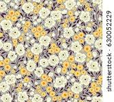 simple cute pattern in small... | Shutterstock .eps vector #630052229