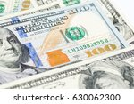 close up image of money  100... | Shutterstock . vector #630062300