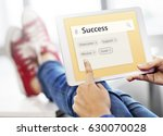 success achievement improvement ... | Shutterstock . vector #630070028