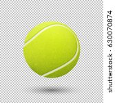 vector realistic flying tennis... | Shutterstock .eps vector #630070874