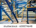 staircase steel structure in... | Shutterstock . vector #630074648