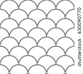 fish scale wallpaper. asian... | Shutterstock .eps vector #630090770