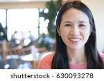 middle aged women smile happily ... | Shutterstock . vector #630093278