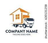 freight truck logo template | Shutterstock .eps vector #630131258