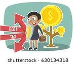 african businesswoman... | Shutterstock .eps vector #630134318