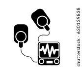 resuscitation device icon | Shutterstock .eps vector #630139838