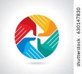 creative vector of teamwork... | Shutterstock .eps vector #630147830