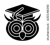 graduate owl icon | Shutterstock .eps vector #630148340