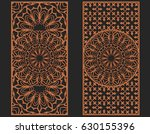 laser cutting set. wall panels. ... | Shutterstock .eps vector #630155396