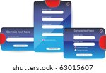 web forms or banners | Shutterstock .eps vector #63015607