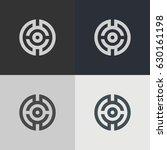 abstract circle logo. logo... | Shutterstock .eps vector #630161198