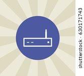 modem icon. sign design....