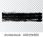 grunge paint stripe . vector... | Shutterstock .eps vector #630196400