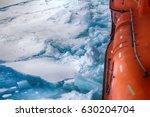 nuclear powered icebreaker... | Shutterstock . vector #630204704