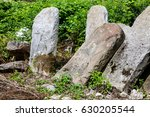 Old Abandoned Jewish Cemetery...