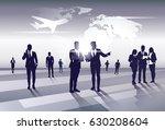business team silhouette... | Shutterstock .eps vector #630208604