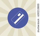 debit card icon. sign design....