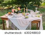 picnic  summer  holiday concept ... | Shutterstock . vector #630248810