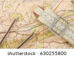 instruments for measuring on a ...   Shutterstock . vector #630255800