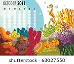 month of the year calendar   Shutterstock .eps vector #63027550