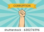 fight for corruption... | Shutterstock .eps vector #630276596