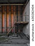 Urban And Industrial Ruins In...