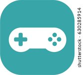 blue pad  game controller  game ... | Shutterstock .eps vector #630285914