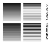 linear halftone background with ... | Shutterstock .eps vector #630286070