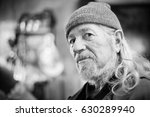 a portrait of a senior adult... | Shutterstock . vector #630289940