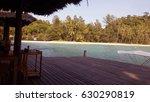 beach resort dock in thailand | Shutterstock . vector #630290819