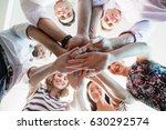 portrait of smiling business... | Shutterstock . vector #630292574
