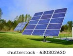 solar panels  solar power... | Shutterstock . vector #630302630