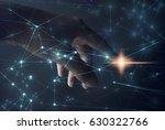 network in people hand   Shutterstock . vector #630322766