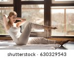 young smiling attractive woman...   Shutterstock . vector #630329543