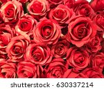 Stock photo artificial roses 630337214