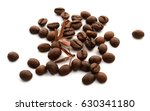 coffee beans  isolated on white | Shutterstock . vector #630341180