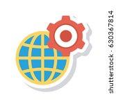 world setting | Shutterstock .eps vector #630367814